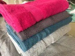 Natural Cotton Bathroom Towel, Size: 70x140,75x150 Cm