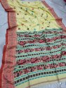 Mulmul Cotton Peacock Weaving Sarees
