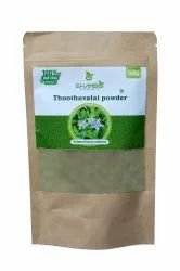 Thoothu valai Leaf powder ( 100 gm ), Packaging Type: Pouch
