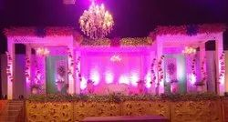 Basic Indian Catering Service For Wedding Event, For Eating, Counter Decoration