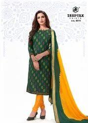 Cotton Green Ladies Suit Material