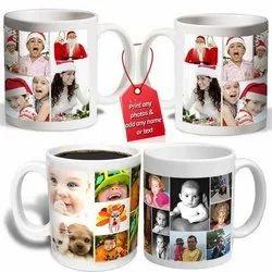 White Plain Sublimation Mug, For Home, Size/Dimension: Regular