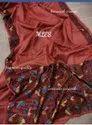 Floral Cutwork Weaving Tussar Silk Sarees