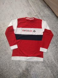 Hosiery Full Sleeve T Shirt, Size: Large
