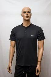 Plain Polyester Mens Sports T Shirt