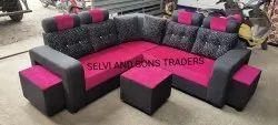 Simple Corner Sofa Set