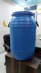 Blue Water 90 l open top drum, Capacity: 50-100 litres