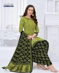 Mayur Ladies Cotton Dress Material