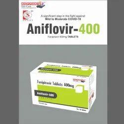 Aniflovir-400 Favipiravir 400 Mg Tab