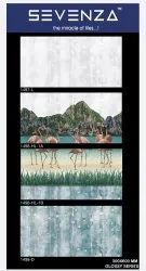 swastik,sevenza Multicolor Digital Ceramic Wall Tiles, Thickness: 5-10 mm, Size: 300x450