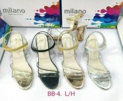 Casual Wear BB-4 MILANO BLOCK HEEL SANDAL