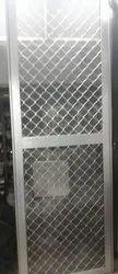 Aluminium Mosquito Mesh Door, For Home