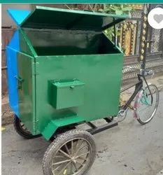 Tricycle Rickshaw For Garbage Collection