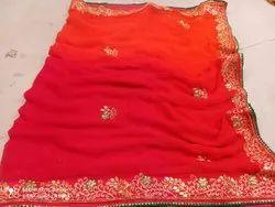 Beautiful Pure Chiffon Saree