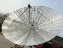 极性铝碟形天线,主焦点,型号名称/编号:C -波段180cm