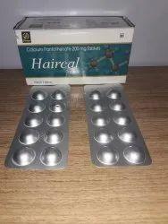 HAIRCAL tabs