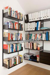 Adjustable Type Book Shelf Wall Mounted Bookshelves, For Home, Size: 72