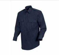 Plain Dark blue Safari suit