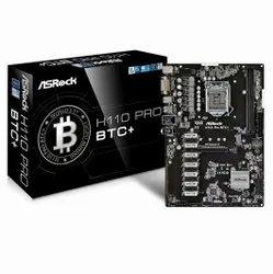 For Computer Asrock H110 Pro BTC Motherboard