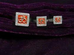 Unisex 925 Silver Om Rings Family Combo