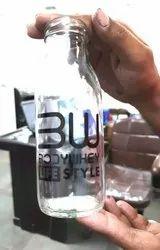 Printed Glass shake Bottle