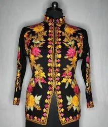 batin handicrafts Kashmiri embroidery Jacket