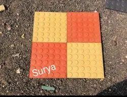 Dollar Parking Tile(Doller), Tile Size: 25 mm, Size: Medium