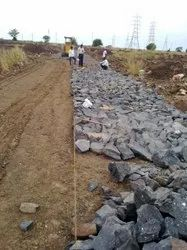 Rubble Soling Rubble Pitching Services