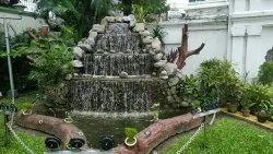 自然假山喷泉