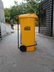 Wheel Dustbin 120 Ltr With Pedal