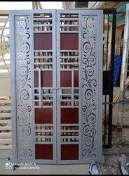 Iron Door And Pipe Door
