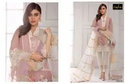 Lawn Embroidered Pakistani Salwar Suit Collection