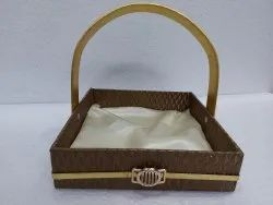 Mdf.&recsin Pasting Gift Baskets, Size/Dimension: 10x10x2.5