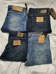 Denim Plain Mens Jeans, Waist Size: 30 to 50