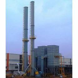 Mild Steel Industrial Chimney