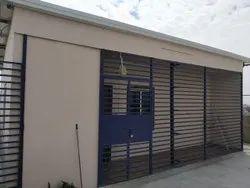 Prefabricated house terrace