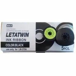 Max Letatwin Black Ink Ribbon LM IR 300B