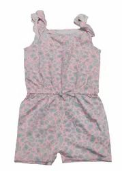 Pink Hosiery Kid's Dungaree