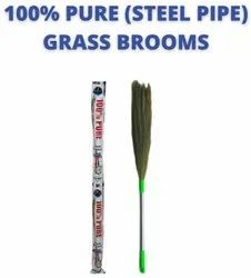Steel Pipe Grass Broom