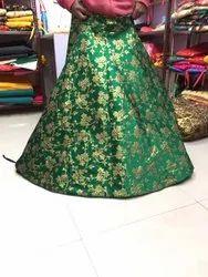 Beautiful Oreb Brocade Skirt