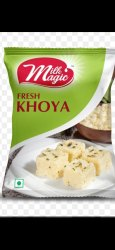 Milk Fresh Khoya, For Home Purpose, Packaging Type: Packet