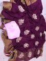 Pure Munga Silk With Beautiful Gottapatti Sarees