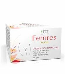 FEMRES As Applicable Vaginal Tightener Gel, For Vaginsl Tightening Jelly, Packaging Type: 100 Gm