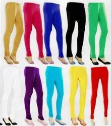 Cotton Plain Ladies Leggings, Size: Xl