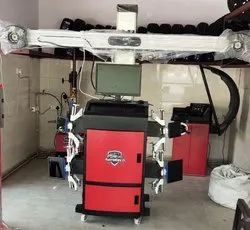 3D Wheel Alignment Machine black radium