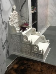 White Marble Masjid Mimber