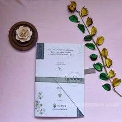 Handmade Wedding Invitation Cards, 3 Leaflet