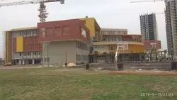 Concrete Frame Structures Marble Promthoues School Construction