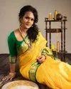 Soft Lichi Silk Saree