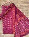 Bagru Hand Block Print Cotton Suit Set